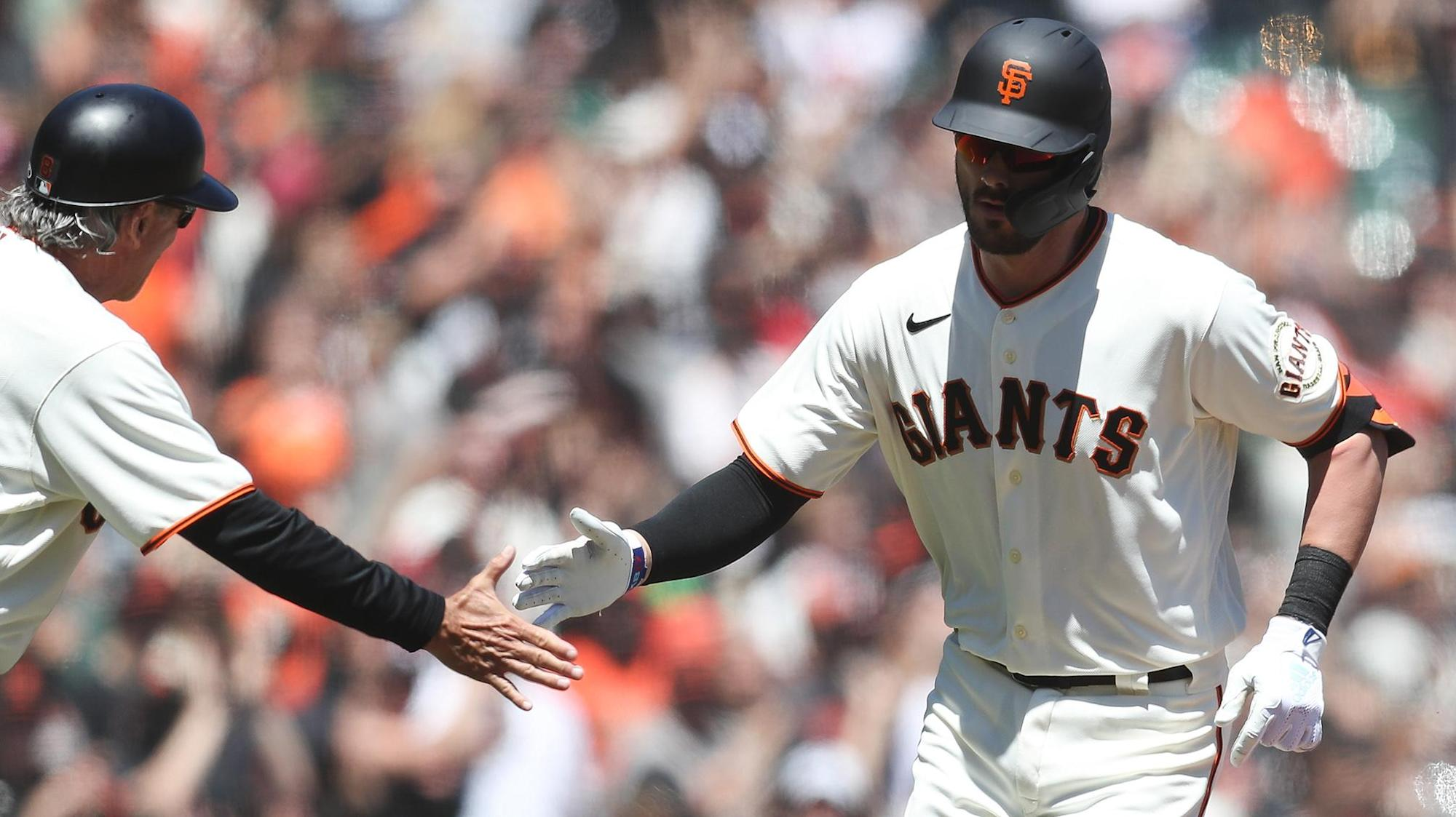 Fantasy Baseball: Kris Bryant homers and makes history in Giants debut