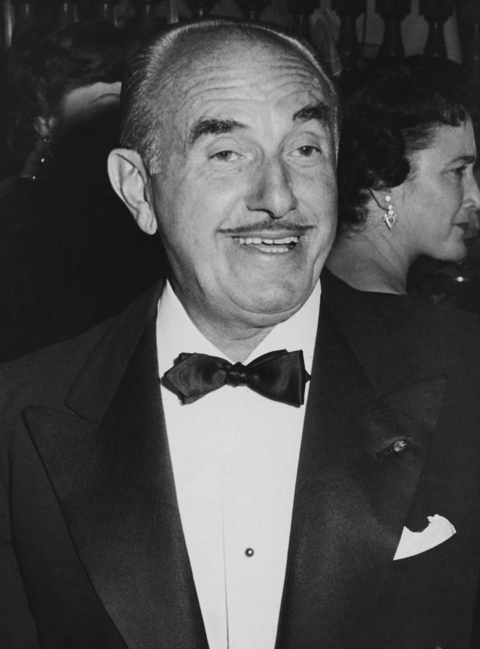 <p>Producer Jack L. Warner won the Cecil B. DeMille Award in 1956.</p>