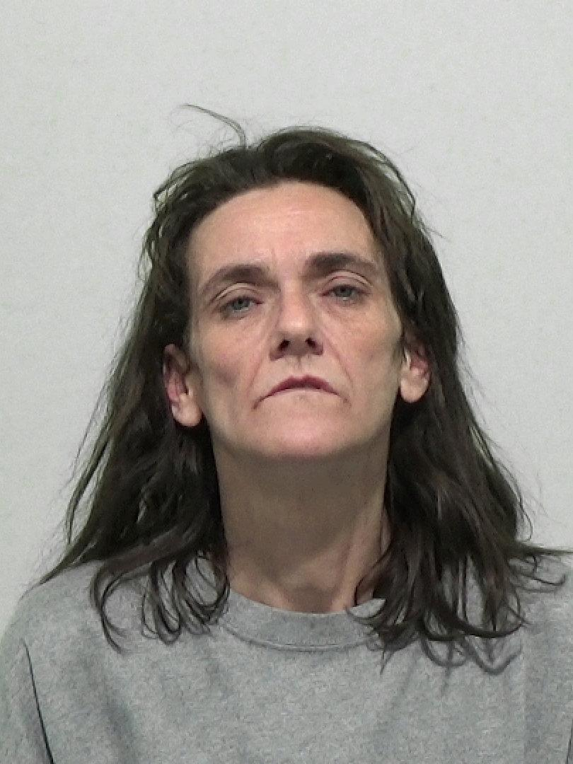 Tanya Walt who sneaked into a family home has been jailed after her distinctive scarf was spotted on a video doorbell. (SWNS)