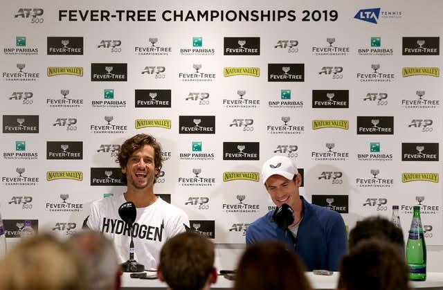 All eyes will be on Feliciano Lopez and Andy Murray on Thursday (Steven Paston/PA)