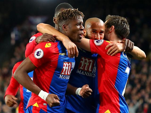 Zaha has been in scincillating form for Palace (Getty)