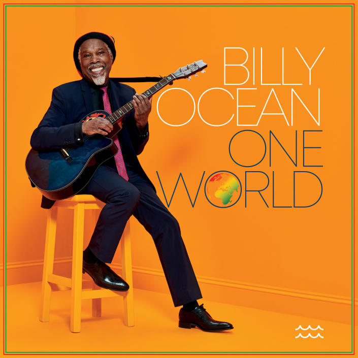 """This cover image released by Sony Music shows """"One World"""" by Billy Ocean, available on Sept. 4. (Sony Music via AP)"""