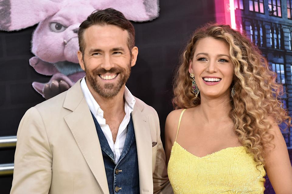 Ryan Reynolds and Blake Lively pictured in 2019 (Photo: Steven Ferdman via Getty Images)