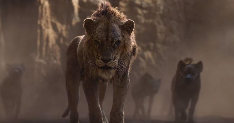First look at Scar in The Lion King (Credit: Disney)