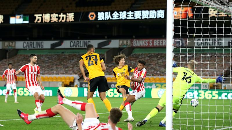 Nuno keeps counsel on reason for Diogo Jota omission as Wolves crash out of cup