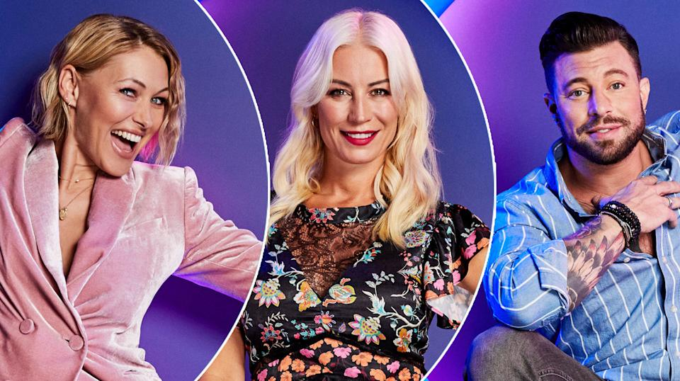Denise Van Outen and Duncan James are the series' biggest names (Channel 4)