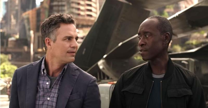 Mark Ruffalo and Don Cheadle