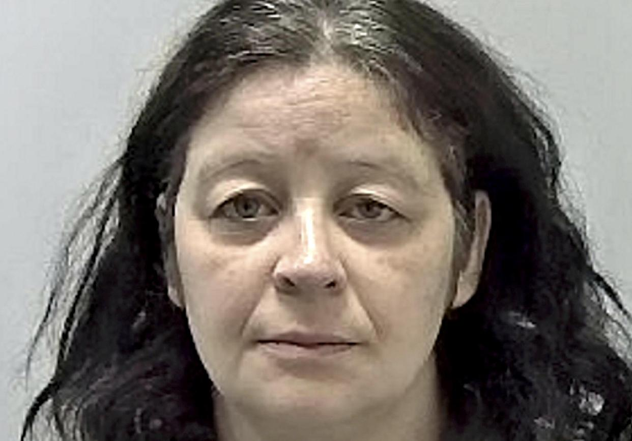 Lucy Fox, 39, who stabbed her mum to death before dumping her dismembered body. (SWNS)