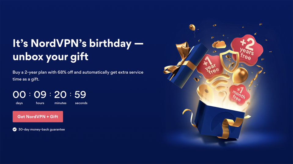 NordVPN birthday discount