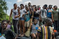 """Haiti's police chief Leon Charles said the assassination was carried out by """"foreigners who spoke English and Spanish"""""""