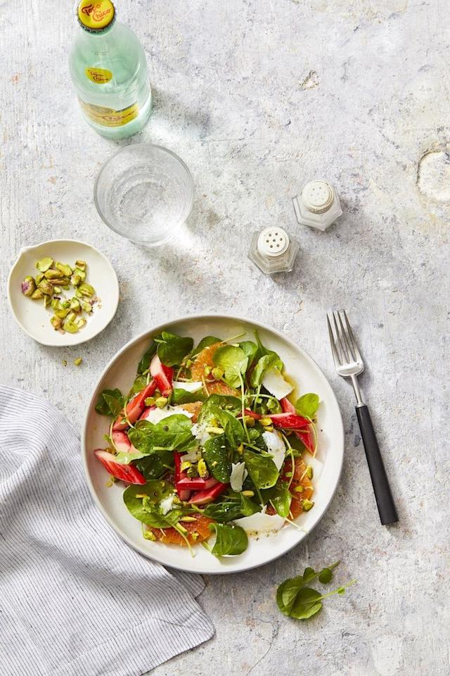 "<p>One of our favorite things about springtime is the opportunity to add more <a href=""https://www.goodhousekeeping.com/health/diet-nutrition/g28556528/healthiest-vegetables/"" target=""_blank"">fresh vegetables</a> to our plates! There's no better way to serve lettuce, green beans, peas, and radishes than in one of these delicious spring salads. From a <a href=""https://www.goodhousekeeping.com/food-recipes/healthy/g960/healthy-lunch-ideas/"" target=""_blank"">healthy lunch</a> to the <a href=""https://www.goodhousekeeping.com/holidays/easter-ideas/g26447507/best-side-dishes-for-ham/"" target=""_blank"">perfect side dish</a> to accompany a delicious <a href=""https://www.goodhousekeeping.com/holidays/easter-ideas/g881/ham-recipes/"" target=""_blank"">Easter ham</a>, these <a href=""https://www.goodhousekeeping.com/food-recipes/healthy/g2128/summer-salads/"" target=""_blank"">salad recipes</a> will convince the whole family to eat plenty of health meals.</p><p>Every great salad begins with a bold and flavor-packed salad dressing. And while you could buy your favorite brand, there are plenty of great vinaigrette recipes out there (like these <a href=""https://www.goodhousekeeping.com/food-recipes/easy/g27562922/best-vegan-salad-dressings/"" target=""_blank"">vegan dressings</a>!) that aren't loaded with sodium or other unnecessary ingredients. Picking the right veggies are also important when building a satisfying salad. <strong>Top tip:</strong> you can grill or char your vegetables to give them plenty of extra flavor (like we did for our Grilled Green Beans, Fennel, and Farro recipe). </p><p>With our favorite recipes for <a href=""https://www.goodhousekeeping.com/food-recipes/healthy/g180/healthy-salads/"" target=""_blank"">main salads</a>, slaws, and sides, you'll be equipped to cook up delicious recipes for any spring occasion. </p>"