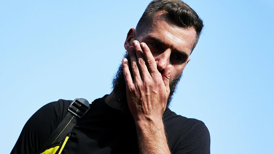 Benoit Paire, pictured here in action at the Barcelona Open.
