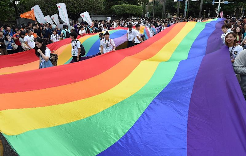 Taiwan's high court rules in favor of same-sex marriage