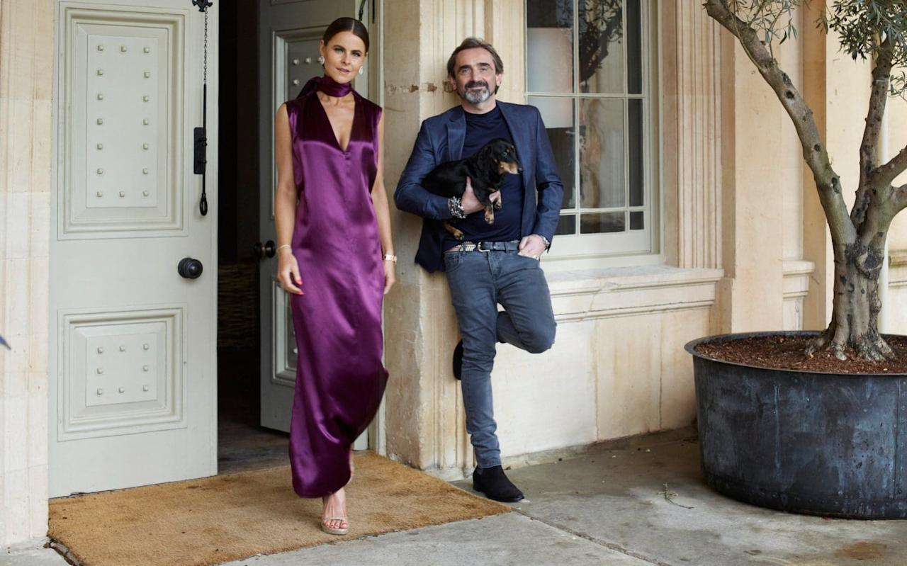 As a tycoon who netted £440 million from the sale of his fashion label, lives in the splendour of a Cotswolds mansion and travels by private jet, Julian Dunkerton can afford the latest technology.