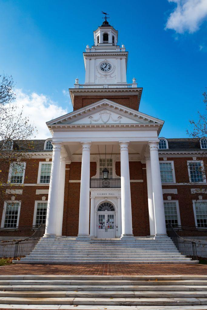 """<p>Baltimore, Maryland</p><p>Tuition: <a href=""""https://www.jhu.edu/admissions/tuition/"""" rel=""""nofollow noopener"""" target=""""_blank"""" data-ylk=""""slk:$52,120"""" class=""""link rapid-noclick-resp"""">$52,120</a></p>"""