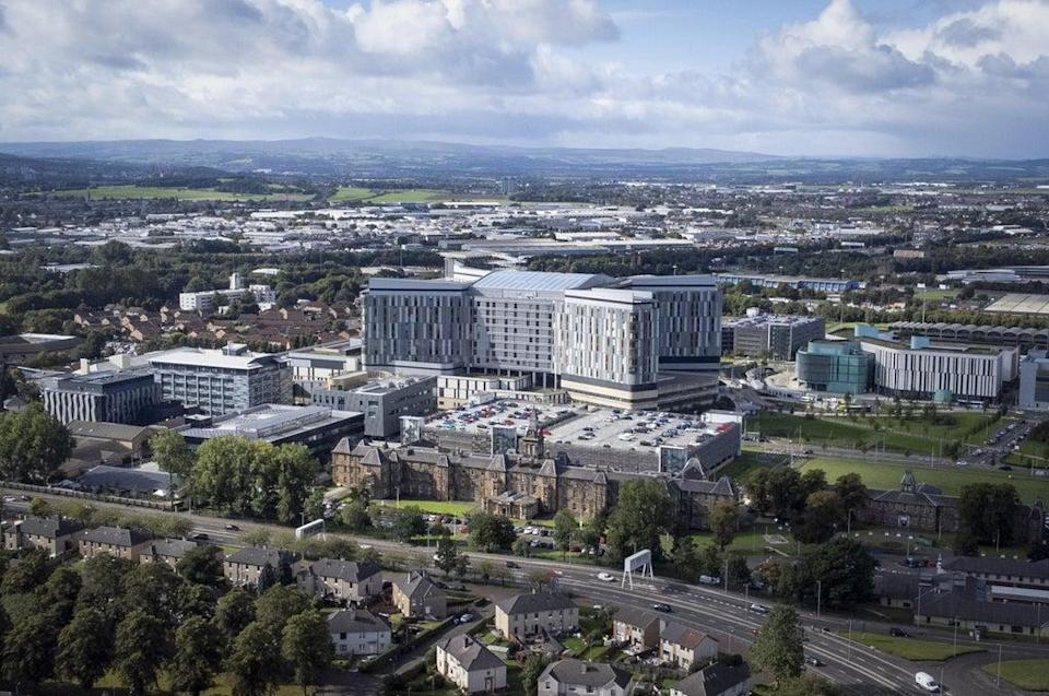 The inquiry is looking at the construction of the Queen Elizabeth University Hospital, Glasgow (Jane Barlow/PA) (PA Wire)