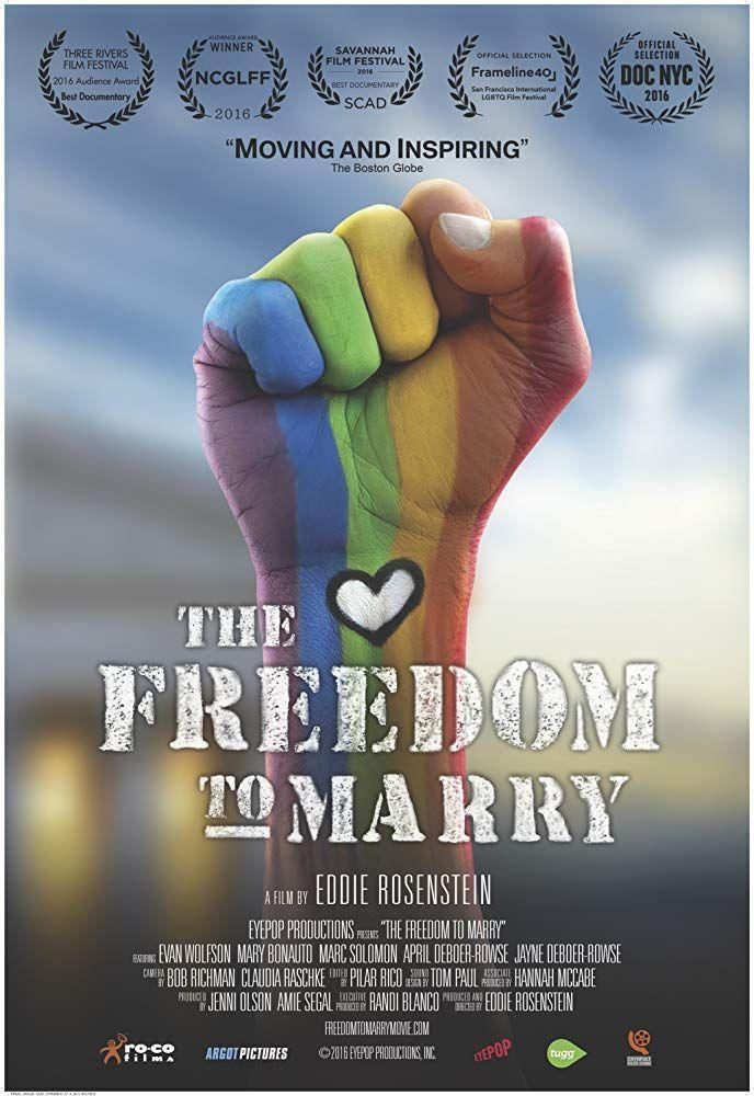 """<p>If you don't know the details of the fight for marriage equality, let this documentary serve as an excellent primer. Watch it with kids to help them understand what that battle was all about, or indulge your history buff side for an adult movie night. </p><p><a class=""""link rapid-noclick-resp"""" href=""""https://www.amazon.com/Freedom-Marry-Evan-Wolfson/dp/B072JN5M4L?tag=syn-yahoo-20&ascsubtag=%5Bartid%7C10055.g.27886652%5Bsrc%7Cyahoo-us"""" rel=""""nofollow noopener"""" target=""""_blank"""" data-ylk=""""slk:STREAM NOW"""">STREAM NOW</a></p>"""