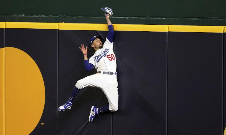 Mookie Betts' extraordinary skills in the outfield have been showcased in the last few days