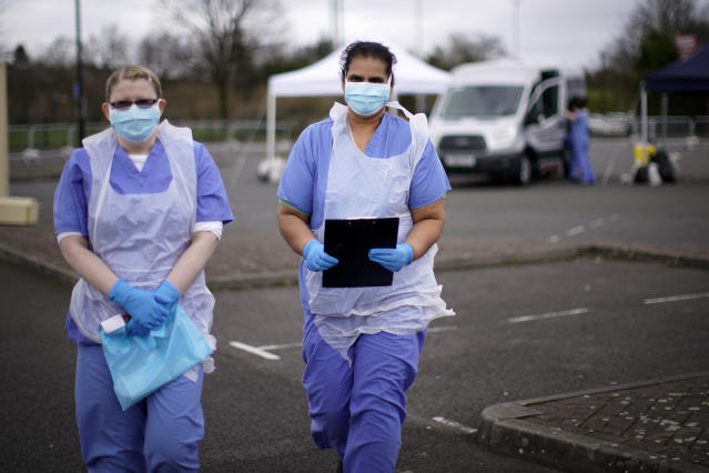 Two different comments on the state of the NHS have confirmed the precarious state it is in amid the coronavirus outbreak. (Getty Images)