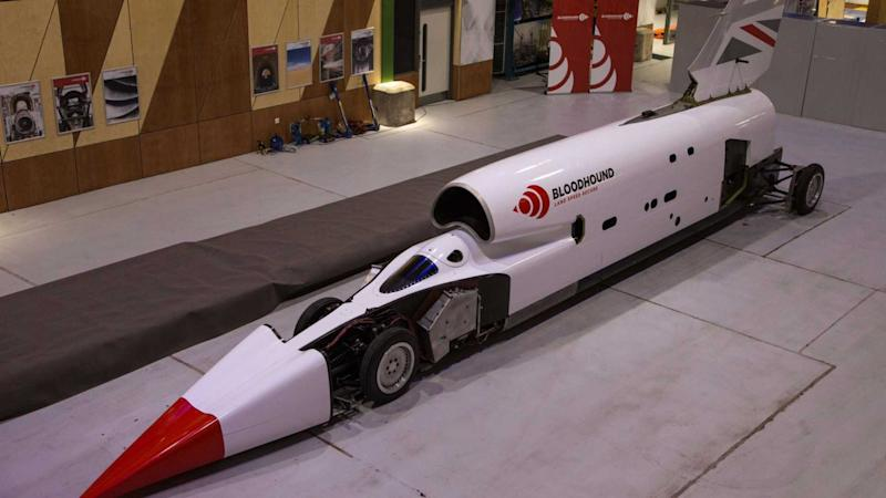 Land Speed Record >> 1000mph Bloodhound Land Speed Record Car Relaunched
