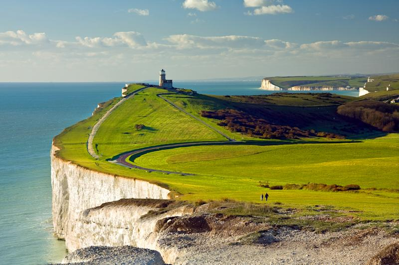 England came in second place due to its almost completed coastal path. [Photo: Getty]