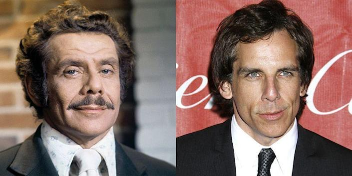 <p>It's no wonder Ben Stiller is one of comedy's biggest names—comedic genius runs in his blood, as his father is Jerry Stiller, who enjoyed a successful career spanning almost 70 years. Both actors were well-known in Hollywood by their mid-40s.</p>