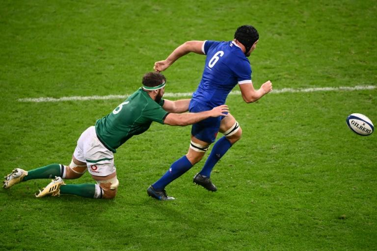 France flanker Francois Cros, a key cog in Fabien Galthie's resurgent side, sustained a fracture of the second metatarsal in his right foot in the 35-27 Six Nations victory over Ireland