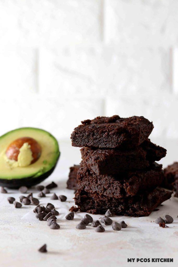 """<p>Add a little superfood to your dessert with this tasty avocado brownie from My PCOS Kitchen. </p><p><a class=""""link rapid-noclick-resp"""" href=""""https://www.mypcoskitchen.com/keto-avocado-brownies-2/"""" rel=""""nofollow noopener"""" target=""""_blank"""" data-ylk=""""slk:Get the recipe"""">Get the recipe</a></p><p><em>Per serving: 155 calories, 14 g fat, 9.7 g carbs, 4 g protein</em></p>"""