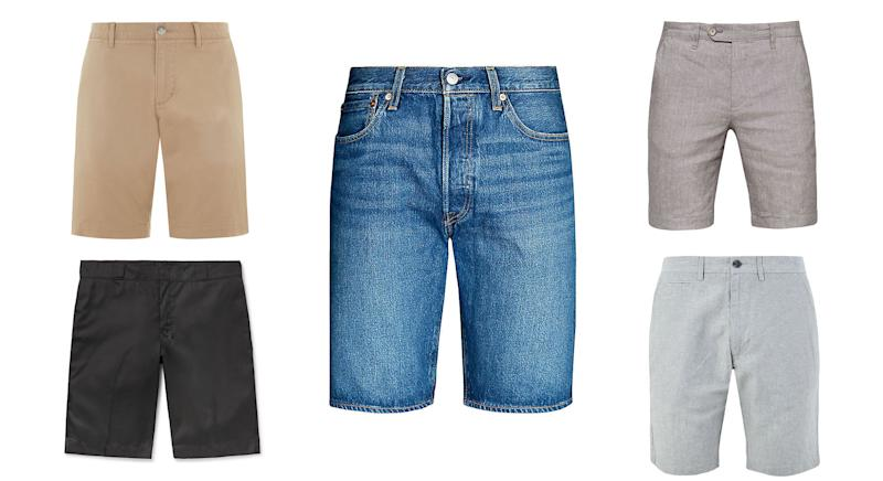 Ditch the jeans and don the shorts at work this summer.