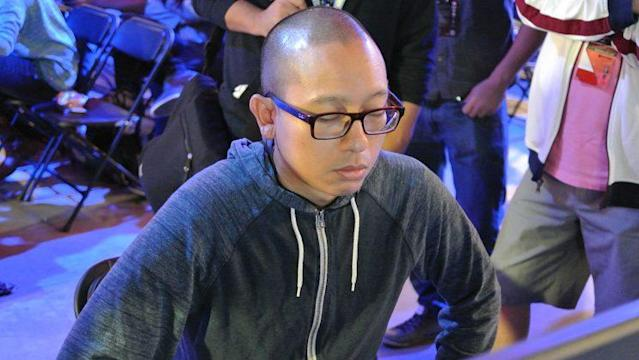 "Miky ""XsK Samurai"" Chea, winner of the first CPT NA Online Ranking Event (Michael Martin)"