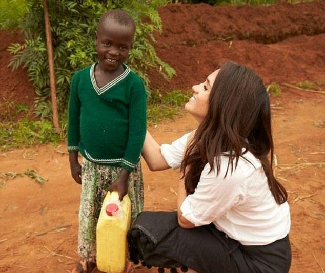 Meghan was on Harry's radar before they even met. Photo: World Vision