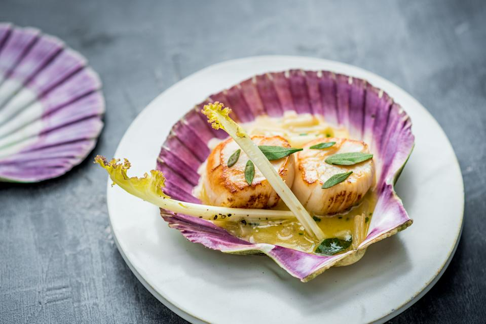 The Michelin star rated food at Kitchin [Photo: Kitchin]