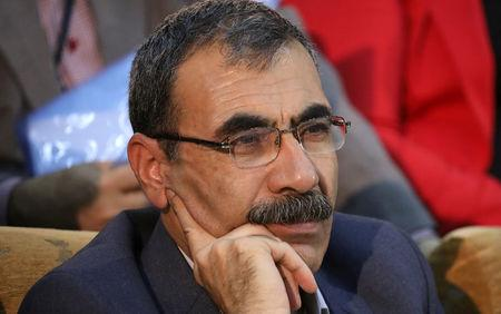 FILE PHOTO: Aldar Xelil, a Kurdish politician is seen in the town of Rmeilan