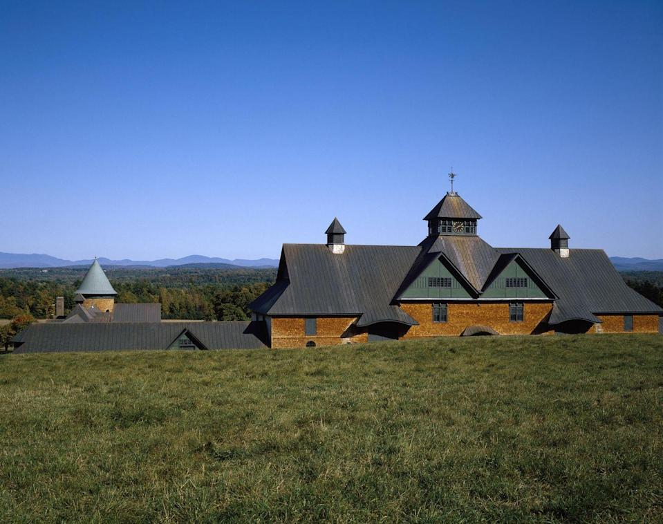 <p>Along the shores of Lake Champlain is this quiet town that's most famous for Shelburne Farms, a series of barns where people can milk cows and watch cheesemakers make cheddars.</p>