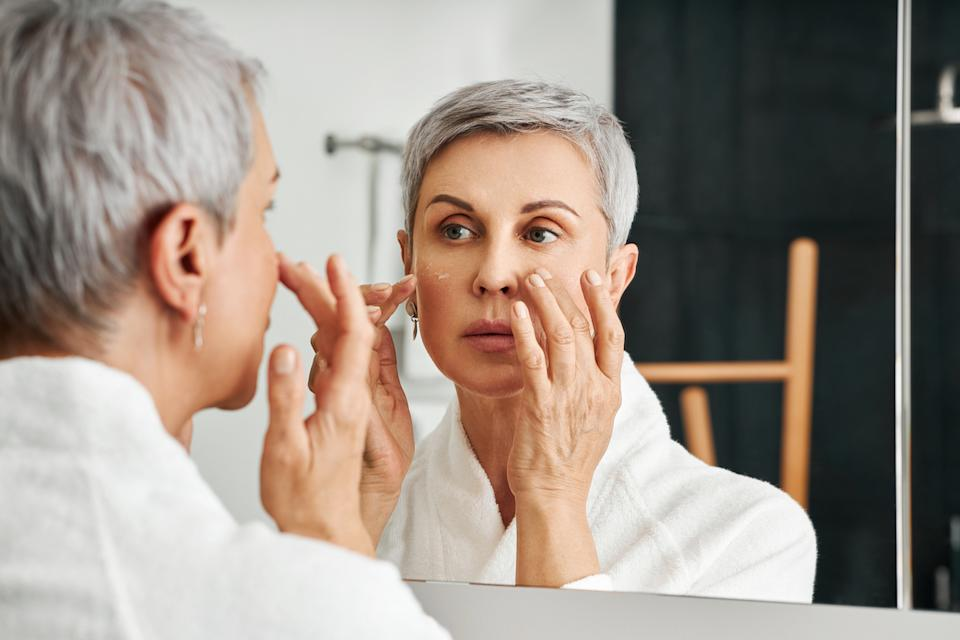 Retinol can help reduce the look of common signs of aging. (Image via Getty Images)