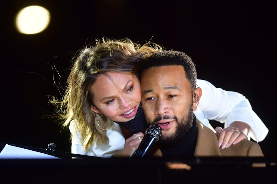 Chrissy Teigen and John Legend lost their third child, son Jack. (Photo by Mark Makela/Getty Images)
