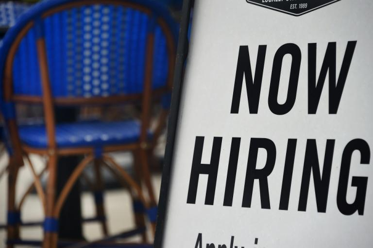 New weekly jobless claim filings in the United States are falling week-on-week but indicate continued widespread joblessness
