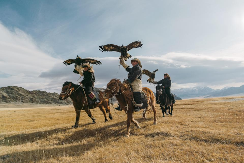 "<a href=""https://www.cntraveler.com/stories/2016-02-08/is-this-the-ultimate-trip-to-mongolia?mbid=synd_yahoo_rss"" rel=""nofollow noopener"" target=""_blank"" data-ylk=""slk:Mongolia"" class=""link rapid-noclick-resp"">Mongolia</a> is always on our must-visit list, but specialists caution that the ""relatively uncharted destination"" requires planning ahead, given that ""domestic flights and accommodations are extremely limited and constantly in-demand,"" says Jessica Wells of Black Tomato. If you have your pick of when to make the trip, Wells says few experiences can compete with <a href=""https://www.blacktomato.com/us/destinations/mongolia/gers-eagles-mongolia/"" rel=""nofollow noopener"" target=""_blank"" data-ylk=""slk:visiting the country's far western region for the Golden Eagle Festival"" class=""link rapid-noclick-resp"">visiting the country's far western region for the Golden Eagle Festival</a> in October, when the culture of the Mongolia's <a href=""https://www.cntraveler.com/gallery/cedric-angeles-on-photographing-mongolias-famous-eagle-hunters?mbid=synd_yahoo_rss"" rel=""nofollow noopener"" target=""_blank"" data-ylk=""slk:famous eagle hunters"" class=""link rapid-noclick-resp"">famous eagle hunters</a> is on display and over a thousand attendees turn out to watch. It's an experience she calls ""utterly mesmerizing."""