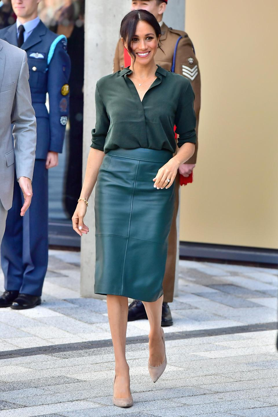 The Duchess of Sussex photographed in Sussex on 3 October 2018 [Photo: Getty]