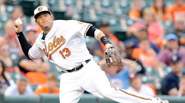 Whether he's at the plate or at the hot corner, Machado is simply one of those players you can't take your eyes off of.