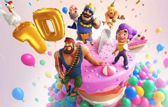 Supercell has hit 10 years old.