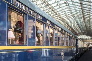 The exterior of one of the cars. Image: Orient Express