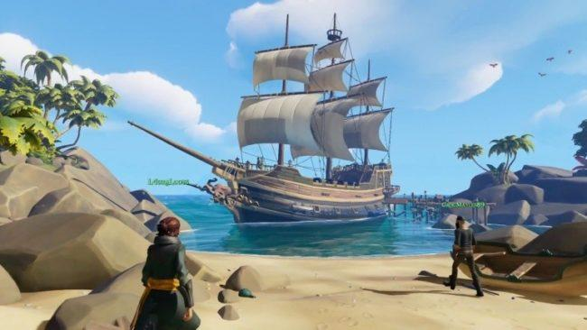 Encore plus de gameplay en vidéo — Sea of Thieves