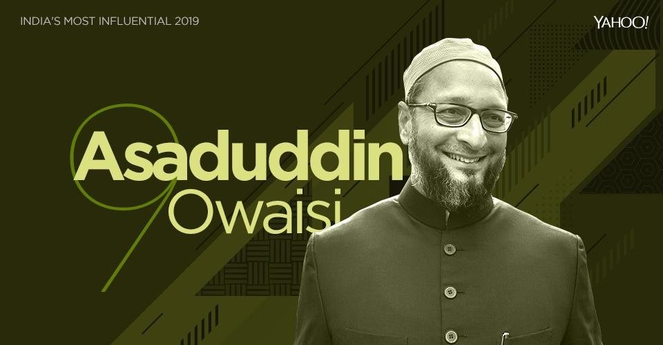 <em>Asaduddin Owaisi has emerged as a big Muslim political leader, so much so that all the so-called 'secular' political parties accuse him of being hand in glove with the Bharatiya Janata Party to divide the Muslim votebank which eventually helps the BJP. But Owaisi brings a very strident and belligerent brand of politics to the table. He makes no bones about fighting for the rights of the Muslim community and his party has taken an openly anti-Hindu stance -- although he's loathe to admit it. A gifted orator and leader of the AIMIM, Owaisi is a shrewd, smart and popular politician. He has managed to grab people's attention well beyond his voters and continues to grow from strength to strength. He's among India's most influential politicians.</em>
