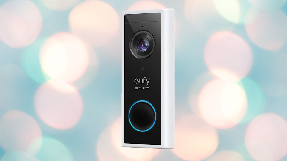 Save 25 percent on this eufy Security 2K Wireless Video Doorbell, today only. (Photo: eufy)