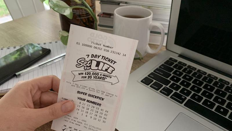 South Australian Student wins the lottery