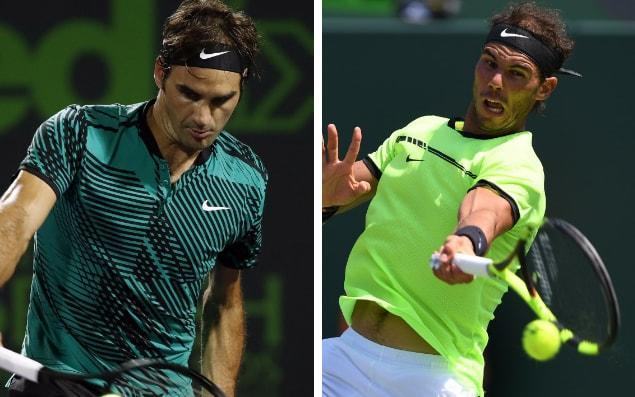 Federer and Nadal will face each other for the 37th time in their careers