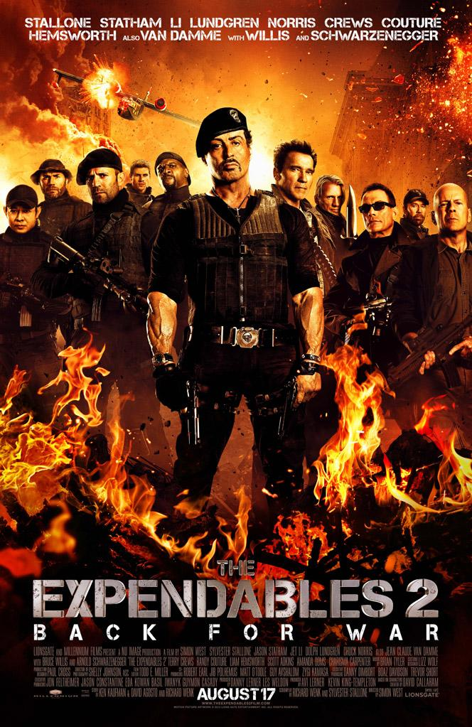"""Lionsgate's """"The Expendables 2"""" - 2012"""