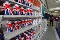 A general view of the mascot of London Olympics Games in the Olympic merchandise store at Olympic Park on July 22, 2012 in London, England. (Photo by Feng Li/Getty Images)