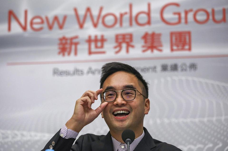 Yu, together with husband Adrian Cheng Chi-kong, the third-generation scion of the family that controls Chow Tai Fook Enterprises and New World Development, are steering  CTF Education into China's education market. Photo: Tory Ho